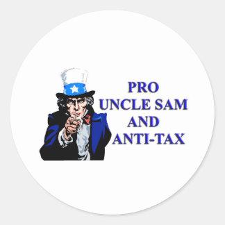 プロ米国市民およびアンチ税 ラウンドシール