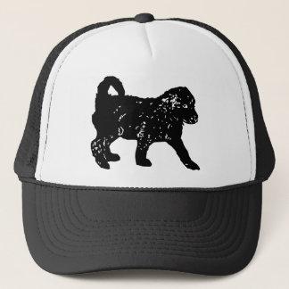 プードルのトラック運転手の帽子 キャップ