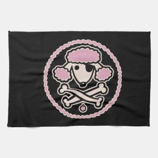 プードルの海賊1cl キッチンタオル