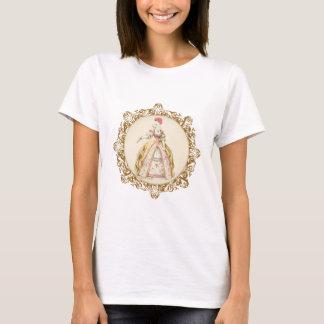プードルのMarie白いアントワネットの華美な芸術 Tシャツ