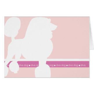 プードルのnotecard カード