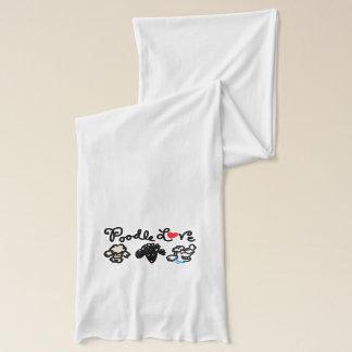 プードル愛 スカーフ