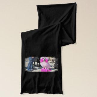 プードル日2016年-バーンズ-ピンク標準プードル スカーフ