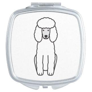 プードル犬の漫画