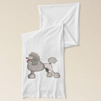プードル犬- Emoji スカーフ