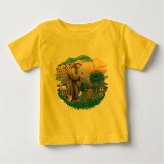 プードル- (おもちゃの杏子) ベビーTシャツ