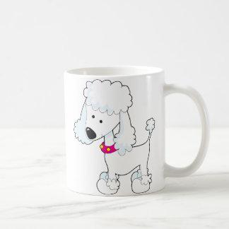 プードル コーヒーマグカップ