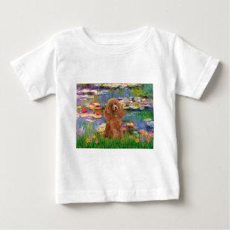 プードル(杏子10) -ユリ2 ベビーTシャツ