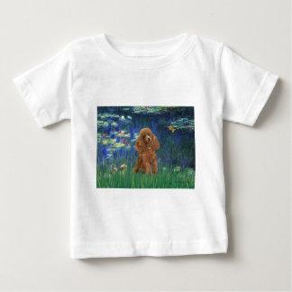 プードル(杏子10) -ユリ5 ベビーTシャツ