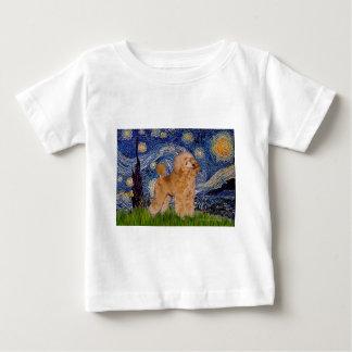 プードル(杏子9) -星明かりの夜 ベビーTシャツ