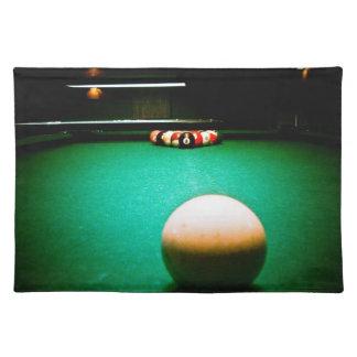 プールのアメリカ人のMoJoのランチョンマットのゲーム ランチョンマット