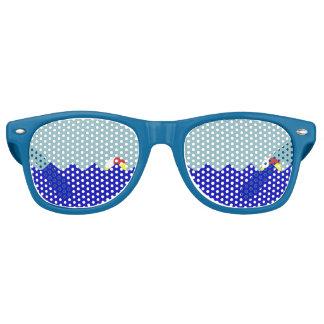 プールのビーチボール(カスタマイズ可能な) レトロサングラス