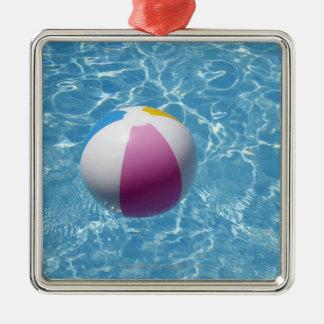 プールのビーチボール メタルオーナメント