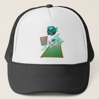 プールの鮫の帽子 キャップ