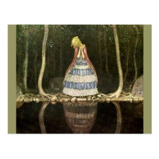 プールのReflection王女の ポストカード