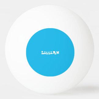 プールを囲んでのパーティの青のカスタム 卓球ボール