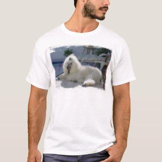 プールサイドのプードル Tシャツ