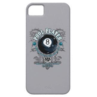 プールプレーヤーの線条細工の8ボール iPhone SE/5/5s ケース