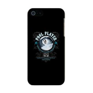 プールプレーヤーの線条細工の9ボール メタリックiPhone SE/5/5sケース