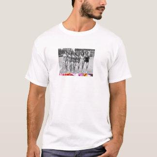 プール日 Tシャツ