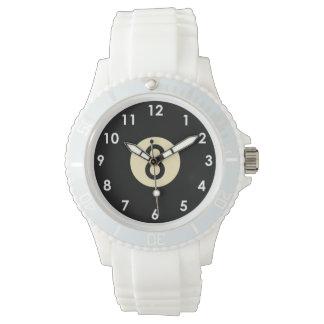 プール8の球の腕時計 腕時計