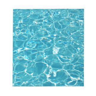 プール ノートパッド