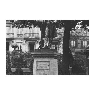 ヘクターベルリオーズへの記念碑 キャンバスプリント