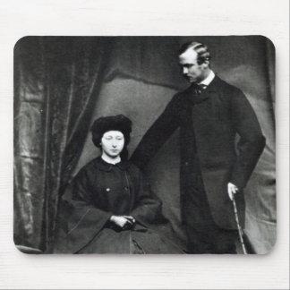 ヘッセン州1860年のプリンセスアリスおよび王子ルートビッヒ マウスパッド