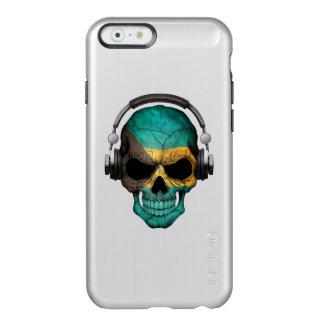 ヘッドホーンが付いているバハマカスタマイズ可能なDjのスカル Incipio Feather Shine iPhone 6ケース