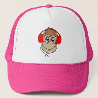ヘッドホーン猿 キャップ