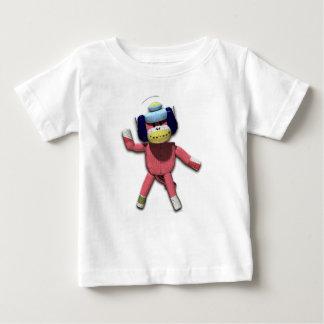 ヘッドホーン猿 ベビーTシャツ