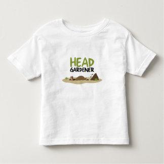 ヘッド庭師のイラストレーション トドラーTシャツ
