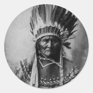 ヘッド服のGeronimo ラウンドシール