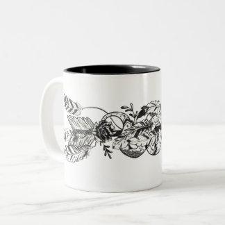 ヘビおよび矢 のマグ ツートーンマグカップ