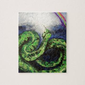 ヘビおよび虹-起源の8:21 ジグソーパズル