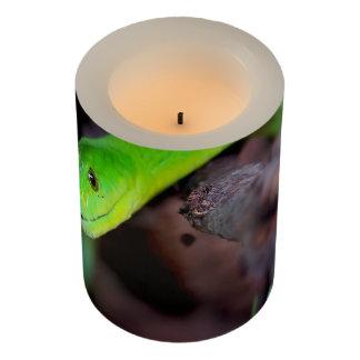 ヘビのスタイル LEDキャンドル