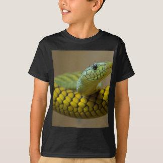 ヘビのハ虫類 Tシャツ