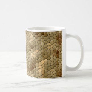 ヘビのプリント コーヒーマグカップ