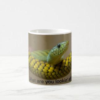 ヘビのマグ コーヒーマグカップ