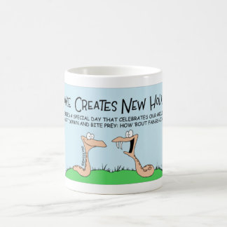 ヘビの休日 コーヒーマグカップ