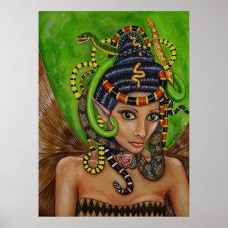 ヘビの女王の妖精ポスター ポスター