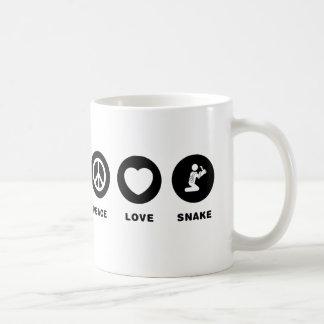 ヘビの恋人 コーヒーマグカップ