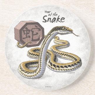 ヘビの芸術の中国のな(占星術の)十二宮図年 コースター