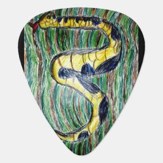 ヘビの芸術 ギター つめ