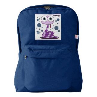 ヘビの(紫色の)バックパック、海軍 AMERICAN APPAREL™バックパック