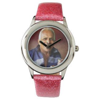 ヘビジャガーによる私のパパのレディース・ウォッチ 腕時計