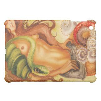 ヘビ入れ墨女の子 iPad MINIケース