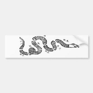 ヘビ結合しますか、または死んで下さい バンパーステッカー