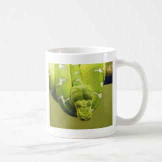 ヘビ コーヒーマグカップ