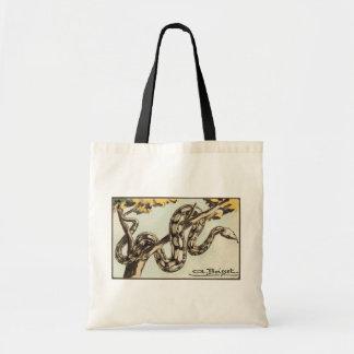 ヘビ トートバッグ